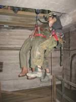 20140622/349301/22062014-werk-hassmersheimrettungsuebung-mit-horst-holzkopfder 22.06.2014 Werk Hassmersheim Rettungsübung mit 'Horst Holzkopf' Der Abstieg beginnt.
